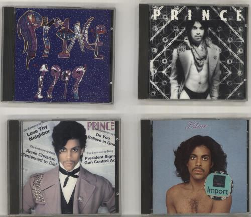 Prince Album Bundle CD album (CDLP) UK PRICDAL700669