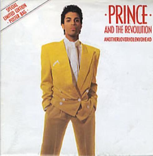 "Prince Anotherloverholenyohead - Poster Sleeve 7"" vinyl single (7 inch record) UK PRI07AN03082"
