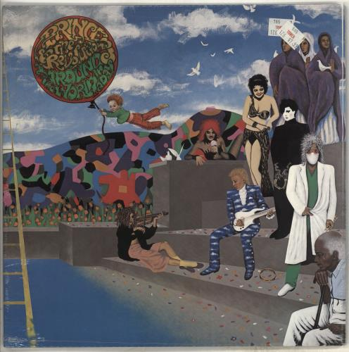 Prince Around The World In A Day - Sealed vinyl LP album (LP record) US PRILPAR356653