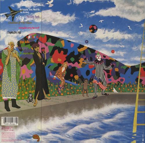 Prince Around The World In A Day Uk Vinyl Lp Album Lp