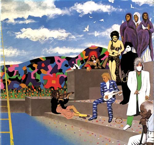 Prince Around The World In A Day vinyl LP album (LP record) US PRILPAR554184