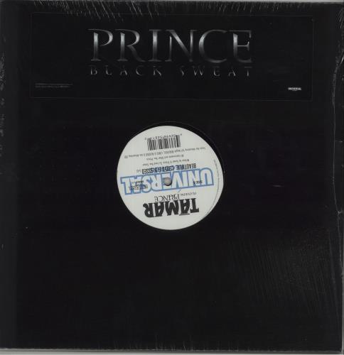 """Prince Black Sweat 12"""" vinyl single (12 inch record / Maxi-single) US PRI12BL352416"""