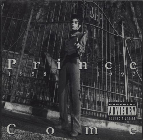 Prince Come CD album (CDLP) German PRICDCO31565