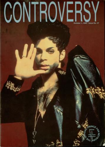 Prince Controversy #37 fanzine UK PRIFACO386808