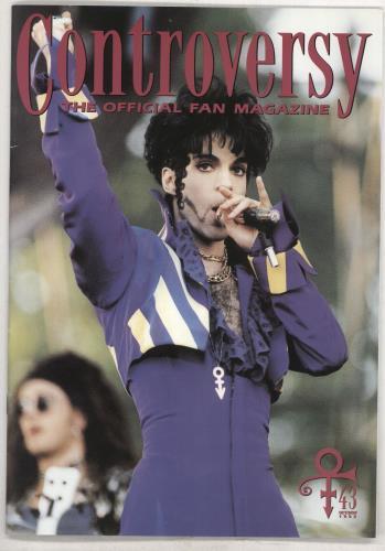 Prince Controversy - #31-43 fanzine UK PRIFACO738089
