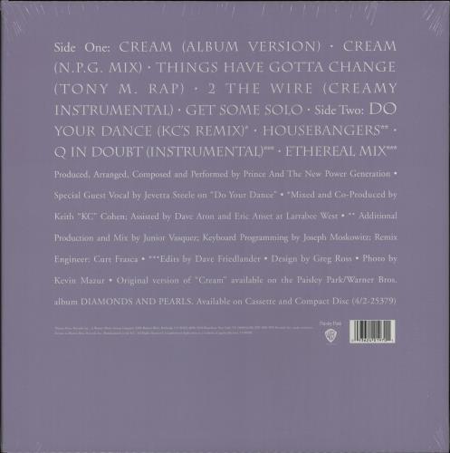 "Prince Cream - Sealed 12"" vinyl single (12 inch record / Maxi-single) UK PRI12CR666079"