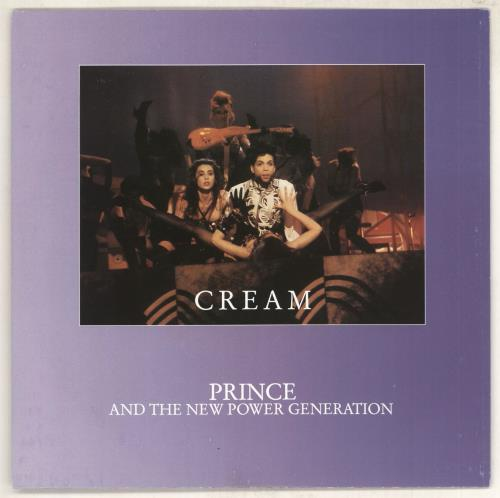 "Prince Cream 7"" vinyl single (7 inch record) German PRI07CR734231"