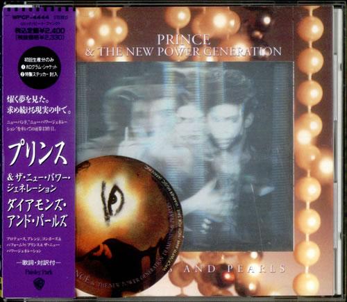 Prince Diamonds & Pearls + Sticker CD album (CDLP) Japanese PRICDDI535561