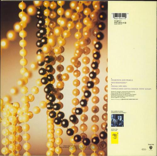 """Prince Diamonds & Pearls 12"""" vinyl single (12 inch record / Maxi-single) German PRI12DI773865"""