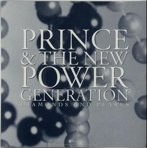Prince Diamonds And Pearls - Display Flat display US PRIDIDI26315