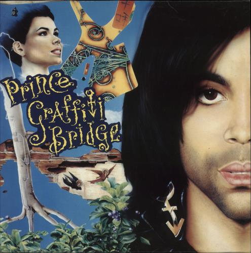 Prince Graffiti Bridge - EX 2-LP vinyl record set (Double Album) UK PRI2LGR748116
