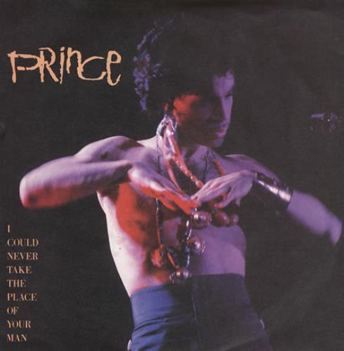 """Prince I Could Never Take The Place Of Your Man - Matt Sleeve 7"""" vinyl single (7 inch record) UK PRI07IC367848"""