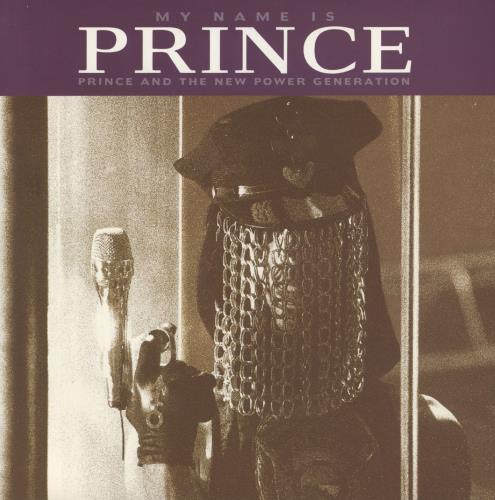 "Prince My Name Is Prince 7"" vinyl single (7 inch record) UK PRI07MY46277"