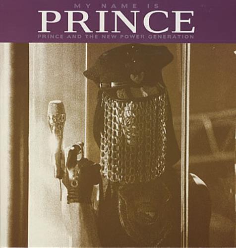 "Prince My Name Is Prince 12"" vinyl single (12 inch record / Maxi-single) German PRI12MY08498"
