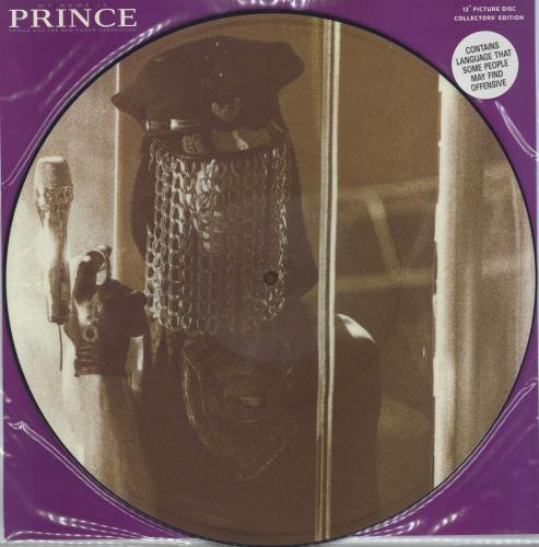 """Prince My Name Is Prince 12"""" vinyl picture disc 12inch picture disc record UK PRI2PMY08719"""