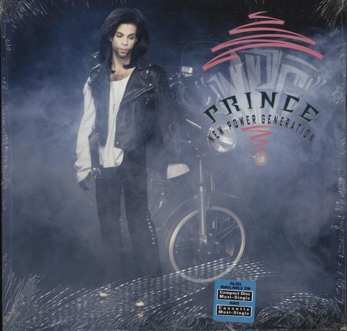 "Prince New Power Generation - Hype-Stickered Shrink 12"" vinyl single (12 inch record / Maxi-single) US PRI12NE773650"