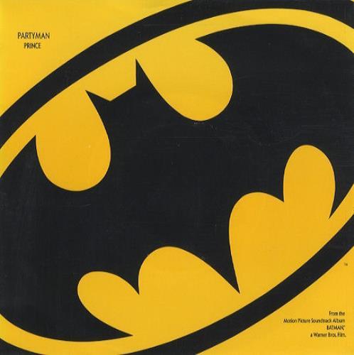 """Prince Partyman 7"""" vinyl single (7 inch record) UK PRI07PA46270"""