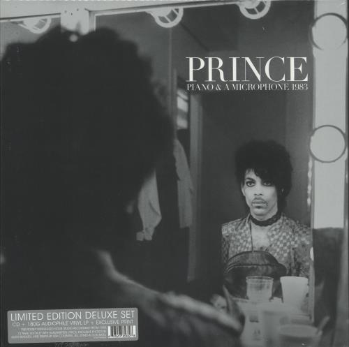 Prince Piano & A Microphone 1983 + CD - Sealed vinyl LP album (LP record) UK PRILPPI726039
