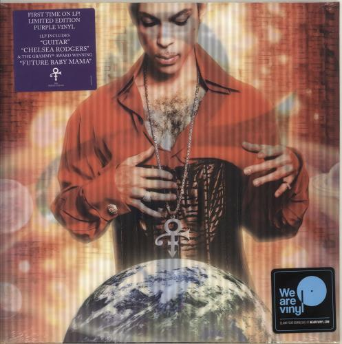 Prince Planet Earth - Purple Vinyl - Sealed vinyl LP album (LP record) UK PRILPPL713855