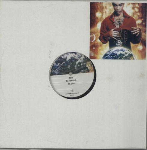 Prince Planet Earth 2-LP vinyl record set (Double Album) US PRI2LPL415991