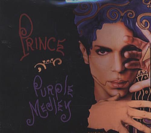"Prince Purple Medley CD single (CD5 / 5"") US PRIC5PU44373"