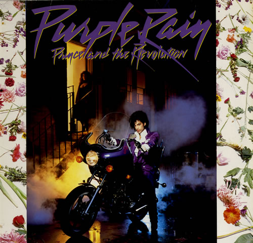 Prince Purple Rain + Poster vinyl LP album (LP record) German PRILPPU46413