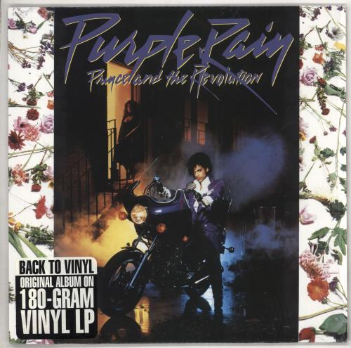 Prince Purple Rain - 180gram Vinyl vinyl LP album (LP record) UK PRILPPU733354
