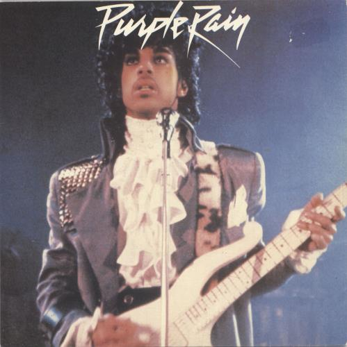"Prince Purple Rain - Injection label 7"" vinyl single (7 inch record) UK PRI07PU03175"