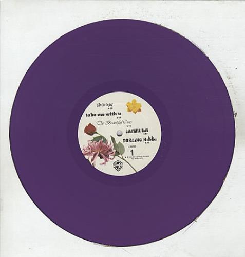 Prince Purple Rain - Purple Vinyl + Poster vinyl LP album (LP record) US PRILPPU64508