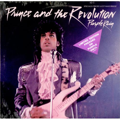 "Prince Purple Rain - Purple Vinyl - Sealed 12"" vinyl single (12 inch record / Maxi-single) US PRI12PU181033"