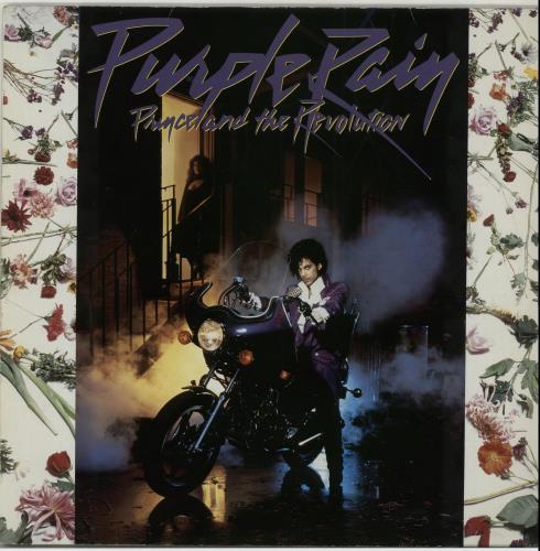 Prince Purple Rain - Purple Vinyl vinyl LP album (LP record) German PRILPPU17629