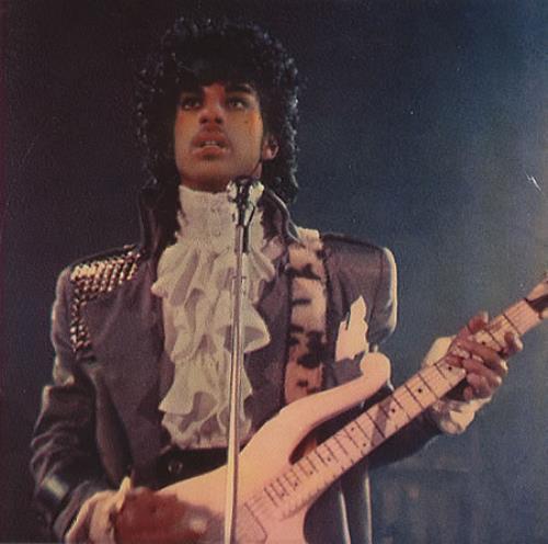 """Prince Purple Rain - Purple Vinyl 7"""" vinyl single (7 inch record) US PRI07PU20882"""