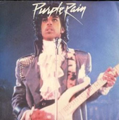 "Prince Purple Rain 7"" vinyl single (7 inch record) Italian PRI07PU159858"