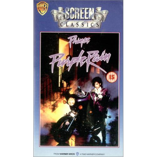Prince Purple Rain video (VHS or PAL or NTSC) UK PRIVIPU247721