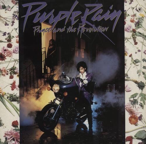 Prince Purple Rain vinyl LP album (LP record) UK PRILPPU03410