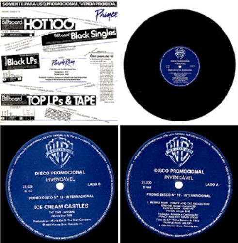"Prince Purple Rain 12"" vinyl single (12 inch record / Maxi-single) Brazilian PRI12PU47424"