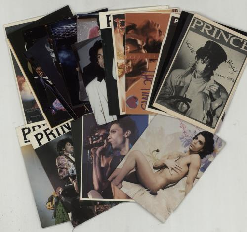 Prince Quantity of 14 Postcards memorabilia UK PRIMMQU658155