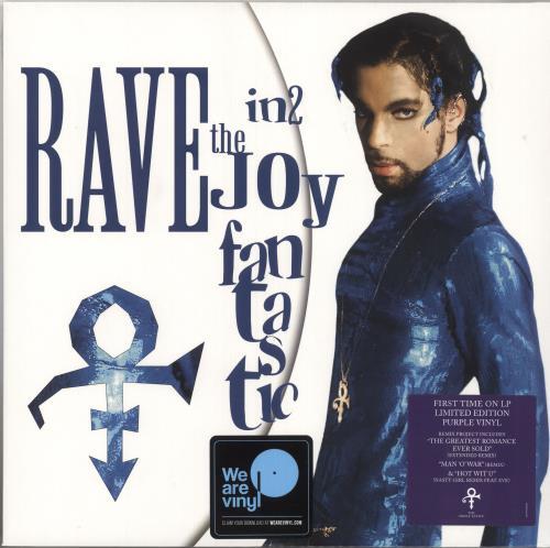 Prince Rave In2 The Joy Fantastic - Purple Vinyl - Sealed 2-LP vinyl record set (Double Album) UK PRI2LRA735864
