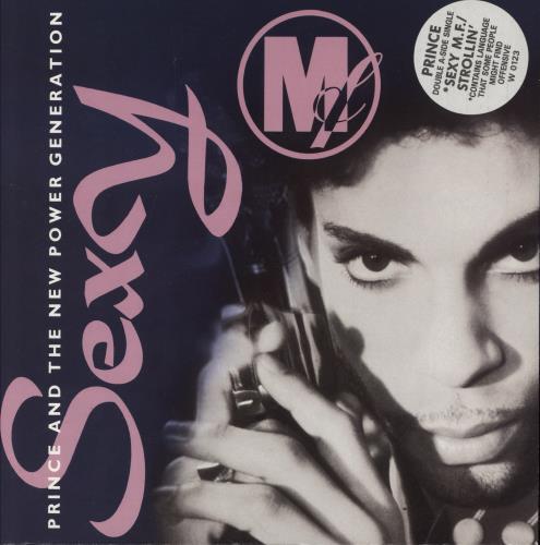 "Prince Sexy M.F. - Stickered sleeve - Inj 7"" vinyl single (7 inch record) UK PRI07SE774228"