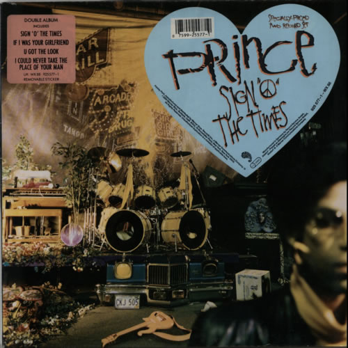 Prince Sign 'O' The Times - Double Stickered Sleeve 2-LP vinyl record set (Double Album) UK PRI2LSI541811