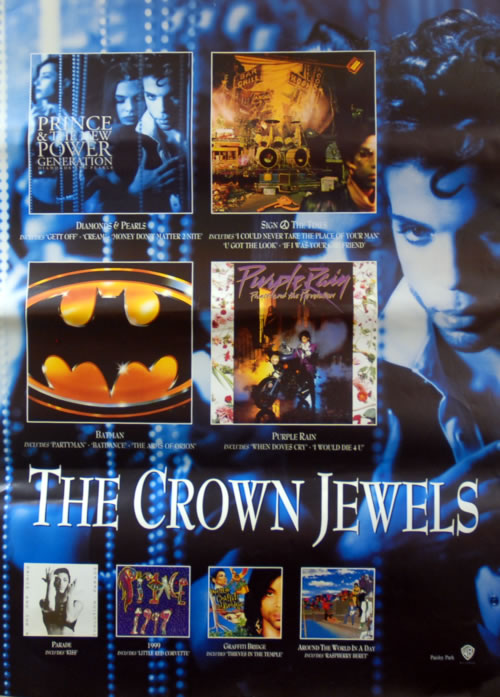 Prince The Crown Jewels poster UK PRIPOTH622887
