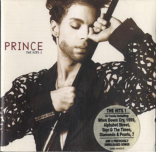 Prince The Hits 1 CD album (CDLP) UK PRICDTH607324