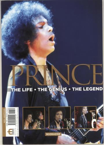 Prince The Life, The Genius, The Legend magazine UK PRIMATH736667