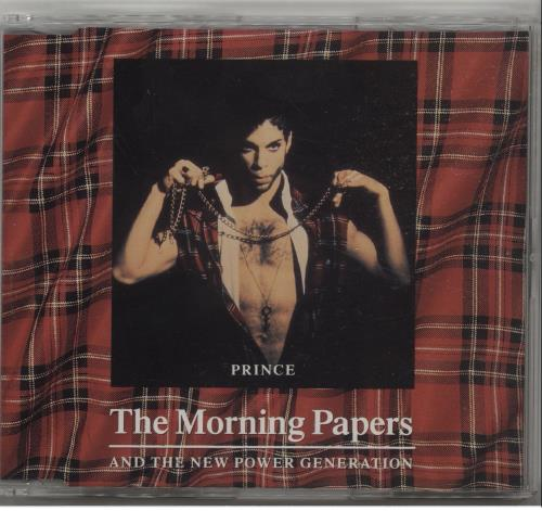 """Prince The Morning Papers CD single (CD5 / 5"""") UK PRIC5TH16385"""
