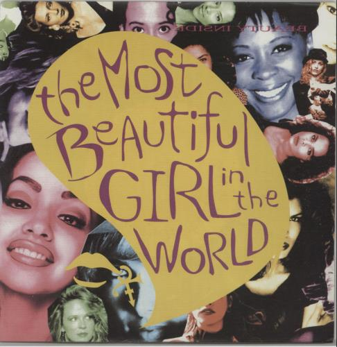"""Prince The Most Beautiful Girl In The World 7"""" vinyl single (7 inch record) UK PRI07TH26776"""