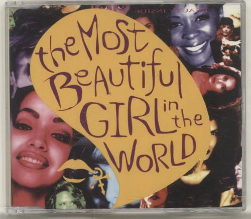 "Prince The Most Beautiful Girl CD single (CD5 / 5"") German PRIC5TH26775"