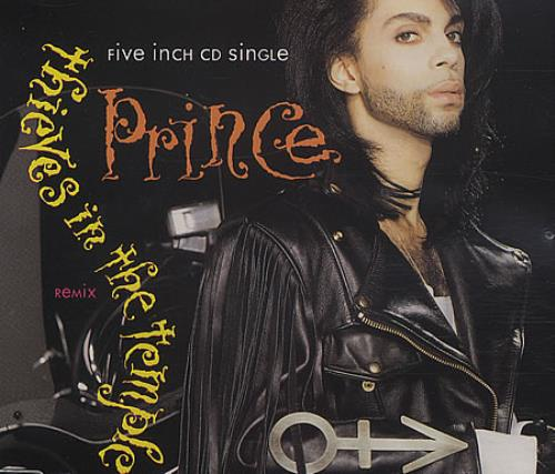"Prince Thieves In The Temple CD single (CD5 / 5"") UK PRIC5TH54157"