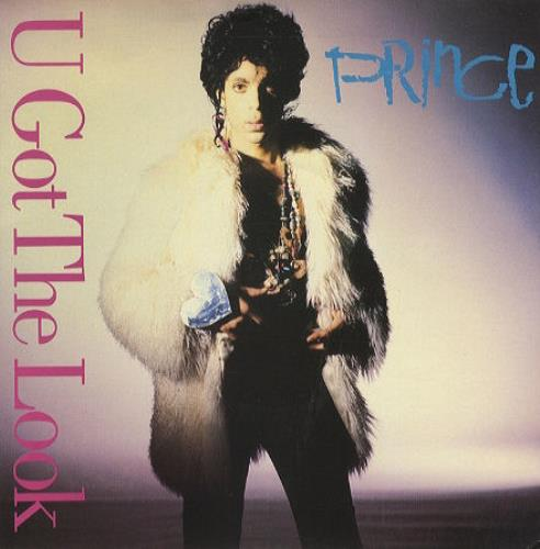 "Prince U Got The Look 7"" vinyl single (7 inch record) UK PRI07UG03123"