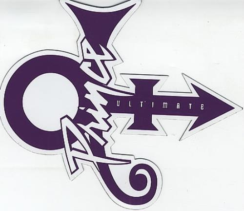 Prince Ultimate Us Promo Memorabilia 410511 Promo Sticker