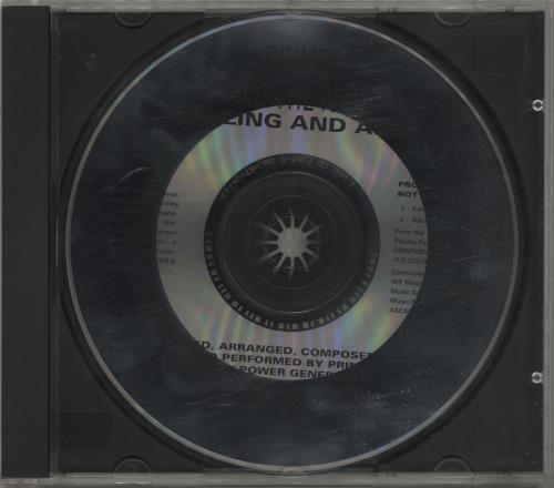 "Prince Willing And Able CD single (CD5 / 5"") US PRIC5WI03731"